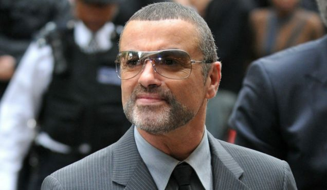 British singer George Michael arrives at court