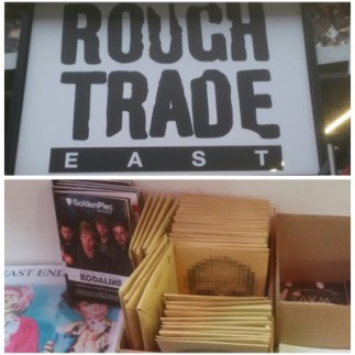 Goldenplec in Rough Trade East