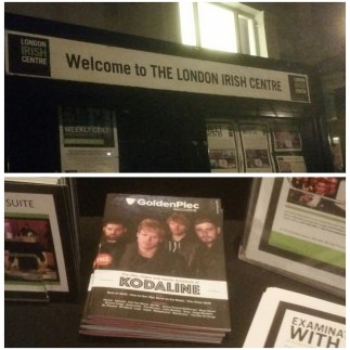 Goldenplec in The London Irish Centre