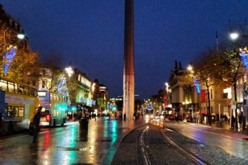 An hour to Kill - In Dublin - O'Connell Street - nessymon