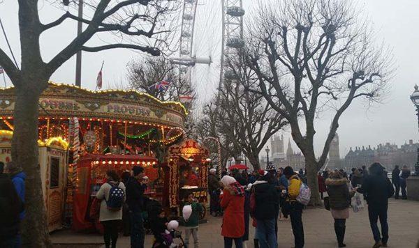 Londons Southbank Christmas - nessymon