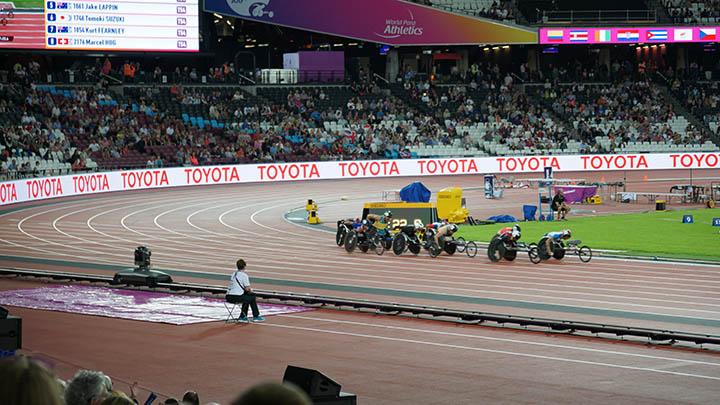 Wheelchair racing - Para Athletics championships 2017 ©nessymon