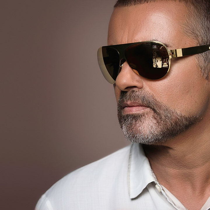 George Michael - photo by Caroline True