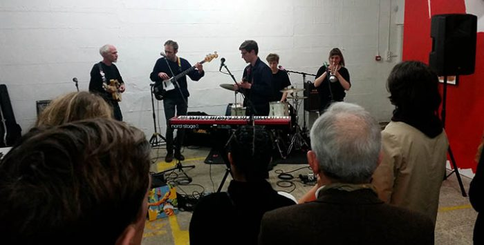 Sam Vance Law and band