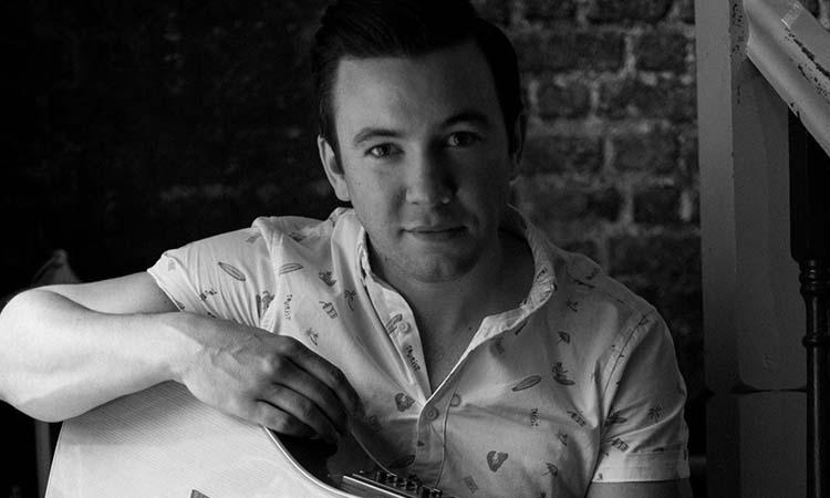 Eoin Glackin - black and white promo shot