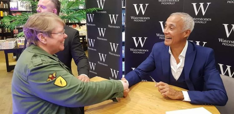 Nessy meets Andrew Ridgeley