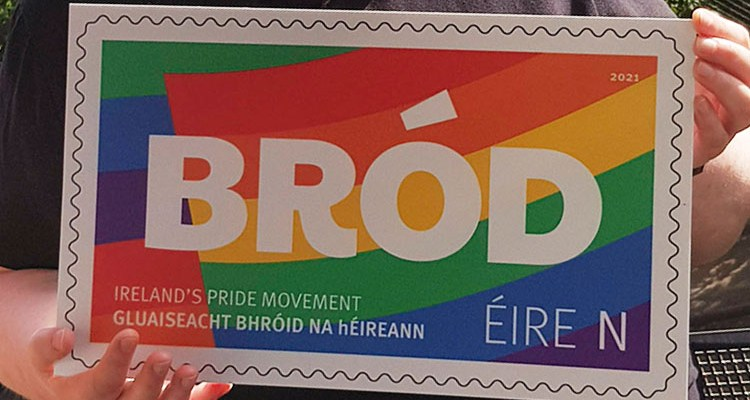 Irish Stamp issued for Pride