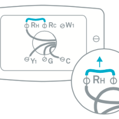 Split System Air Conditioner Wiring Diagram Kenmore Clothes Dryer Learn More About Jumper Wires To Your Thermostat Should Have One End Connected And The Other Go Through Wall Connect Hvac
