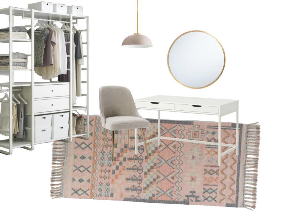 Dressing Room Design Board – NEST & NOURISH