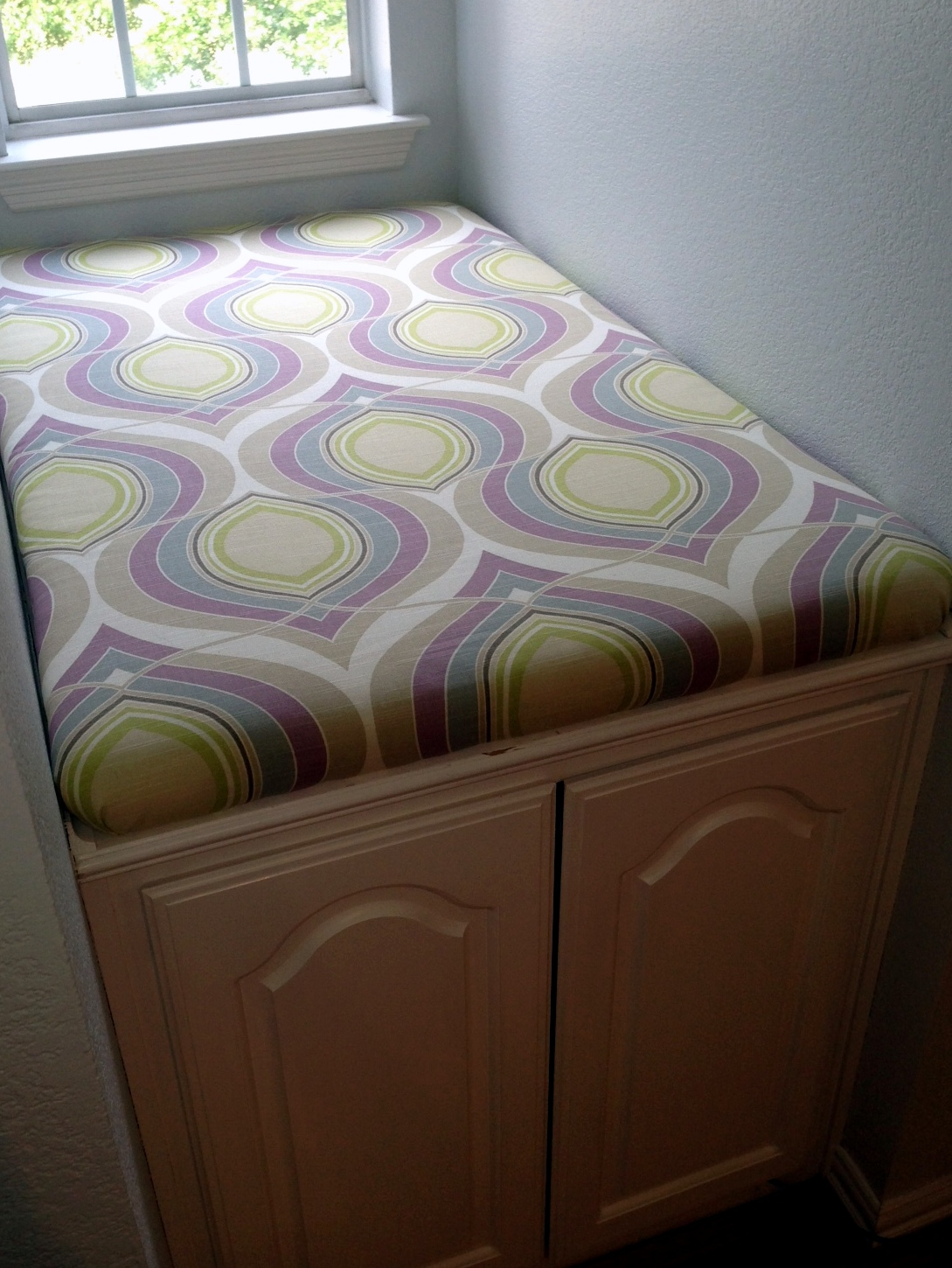 diy chair cushion no sew small kitchen island with chairs window seat cushions a nester 39s nest