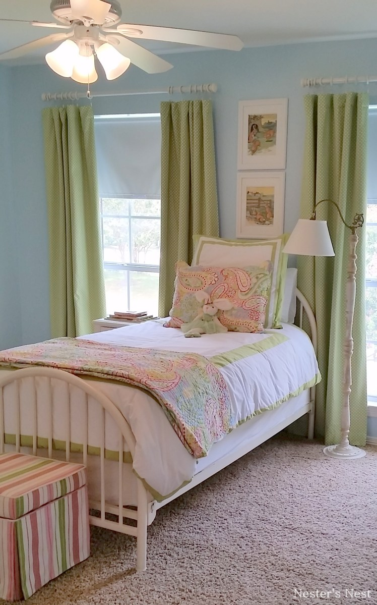 The Big Reveal of a Big Girl Room Take 2  A Nesters Nest