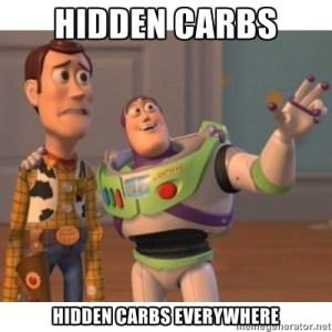 hidden carbs