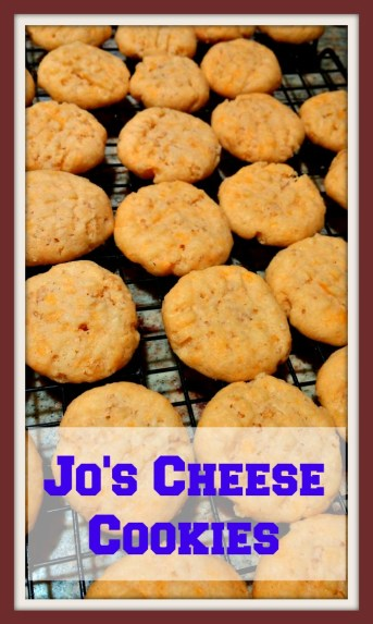Jo's Cheese Cookies