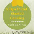 Start Canning