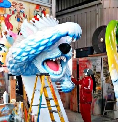 Mardi Gras Airbrush