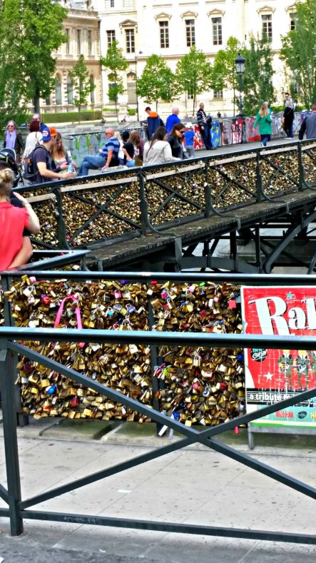 love locks bridge T&O