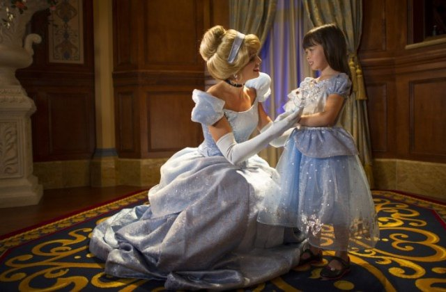 Cinderella at Disney World