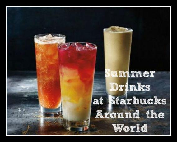 Starbucks Summer Drinks Around the World