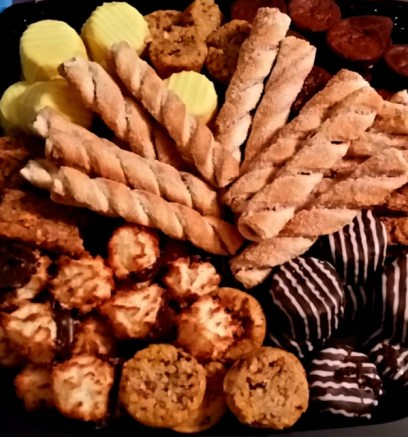 Sprouts catering cookie tray