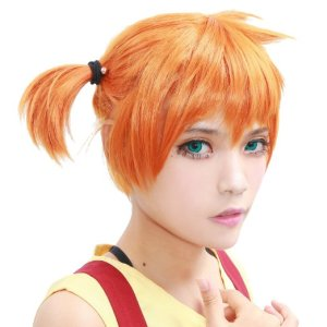 Pokemon Misty Wig Halloween Costume