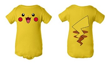 Pokemon Onesie Costume Pikachu