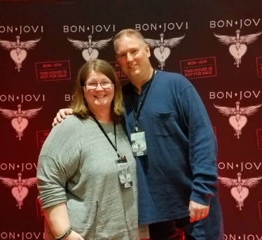 Bon Jovi THINFS Atlanta VIP Carpet