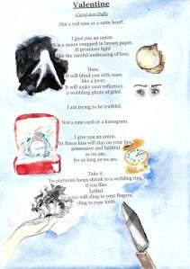 Illustrated Poem: Valentine, by Carol A. Duffy