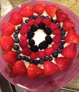 My homemade cheesecake