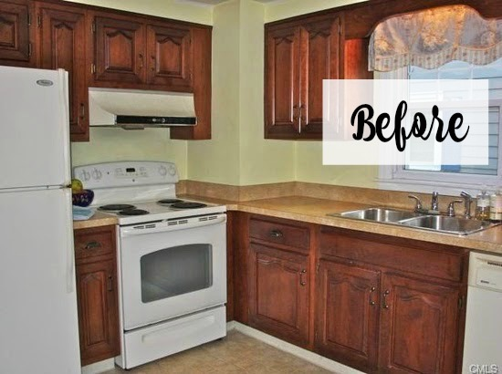 white kitchen remodel before 2