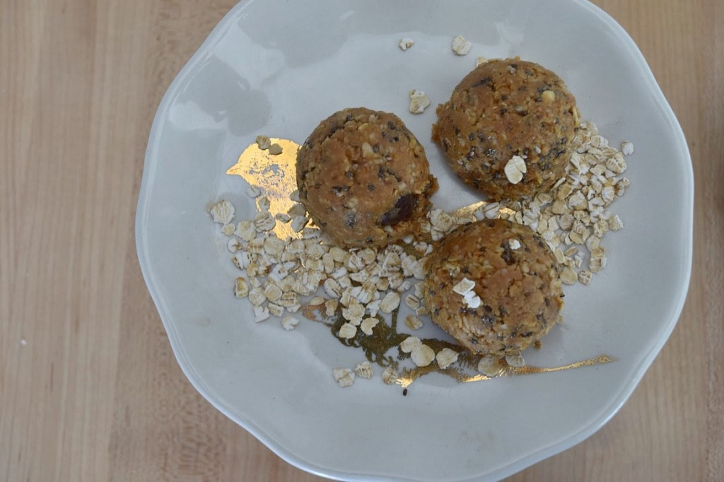 recipe for healthy protein bites