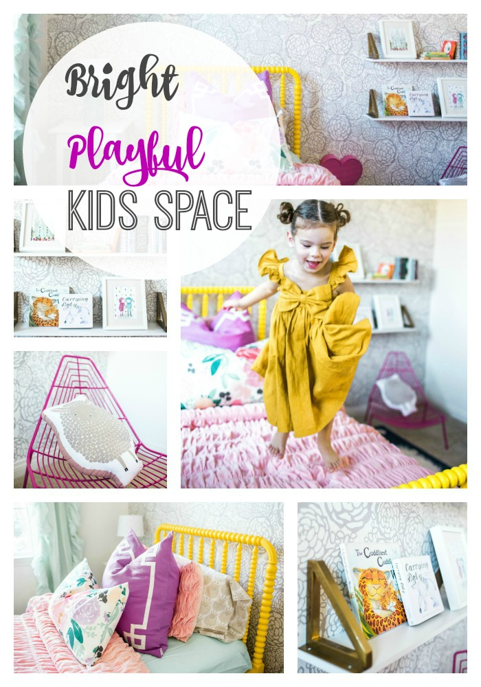 Kids space bright and playful
