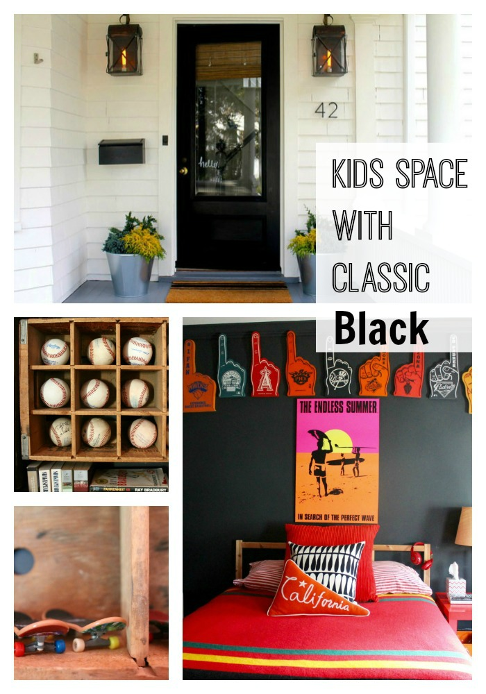 Kids space decor for boys