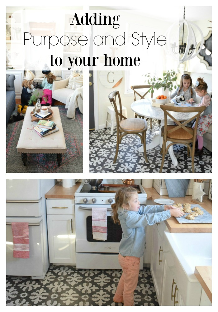Adding purpose and style to your home