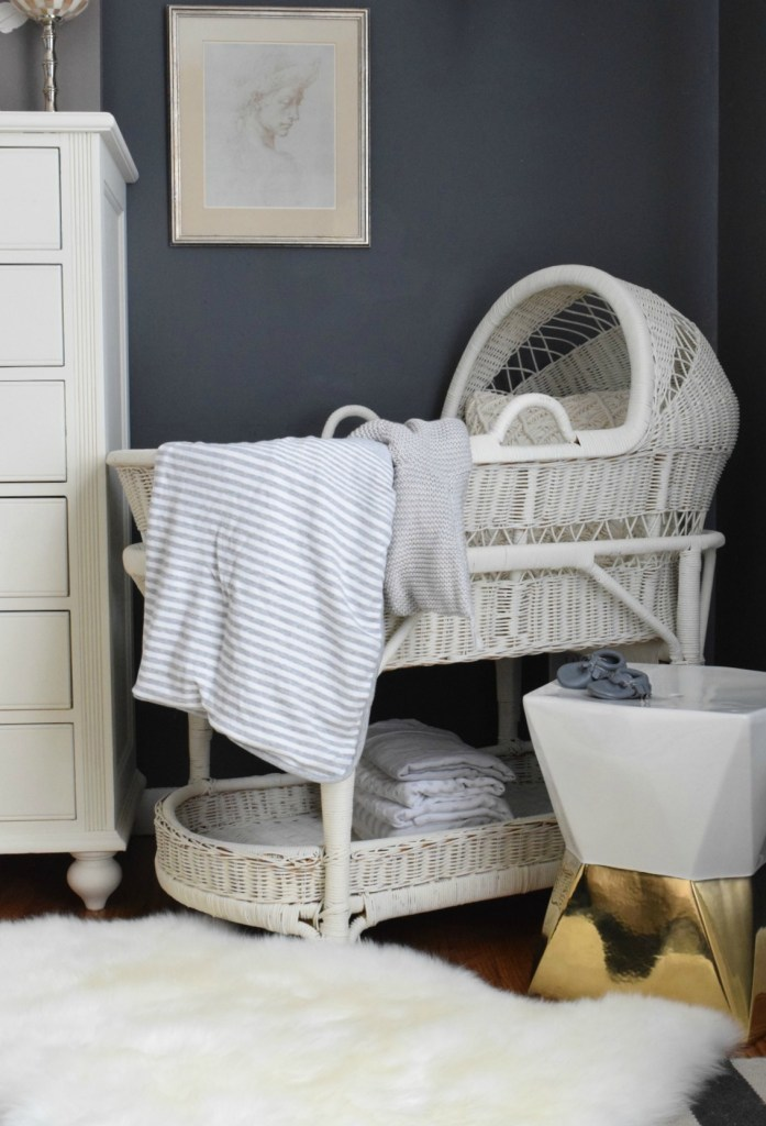 baby bassinet nursery ideas