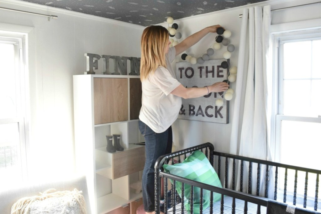 baby boy nursery crib