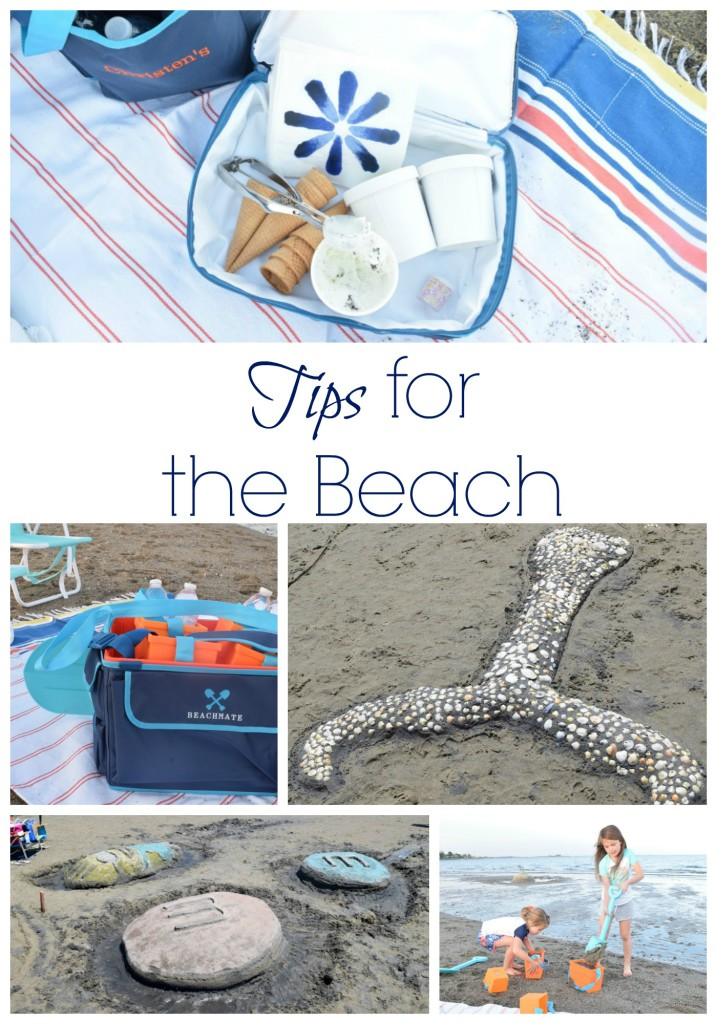 Tips for the beach and sandcastles