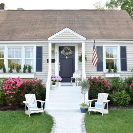 Exterior update and curb appeal cape cod style home