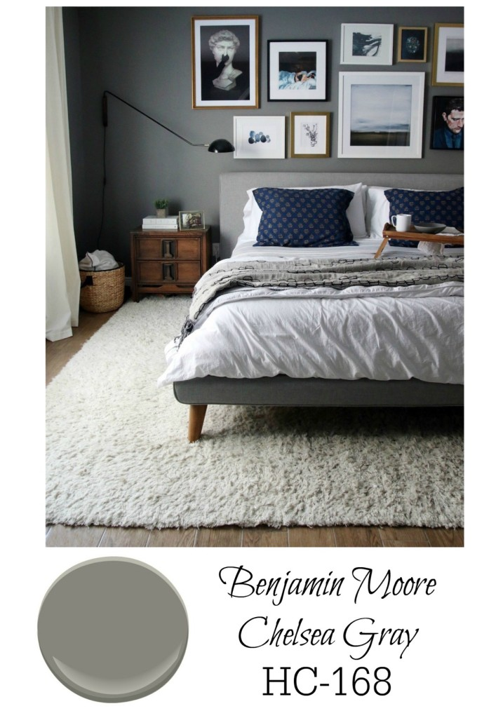 Dark Bedroom Walls  Nesting With Grace