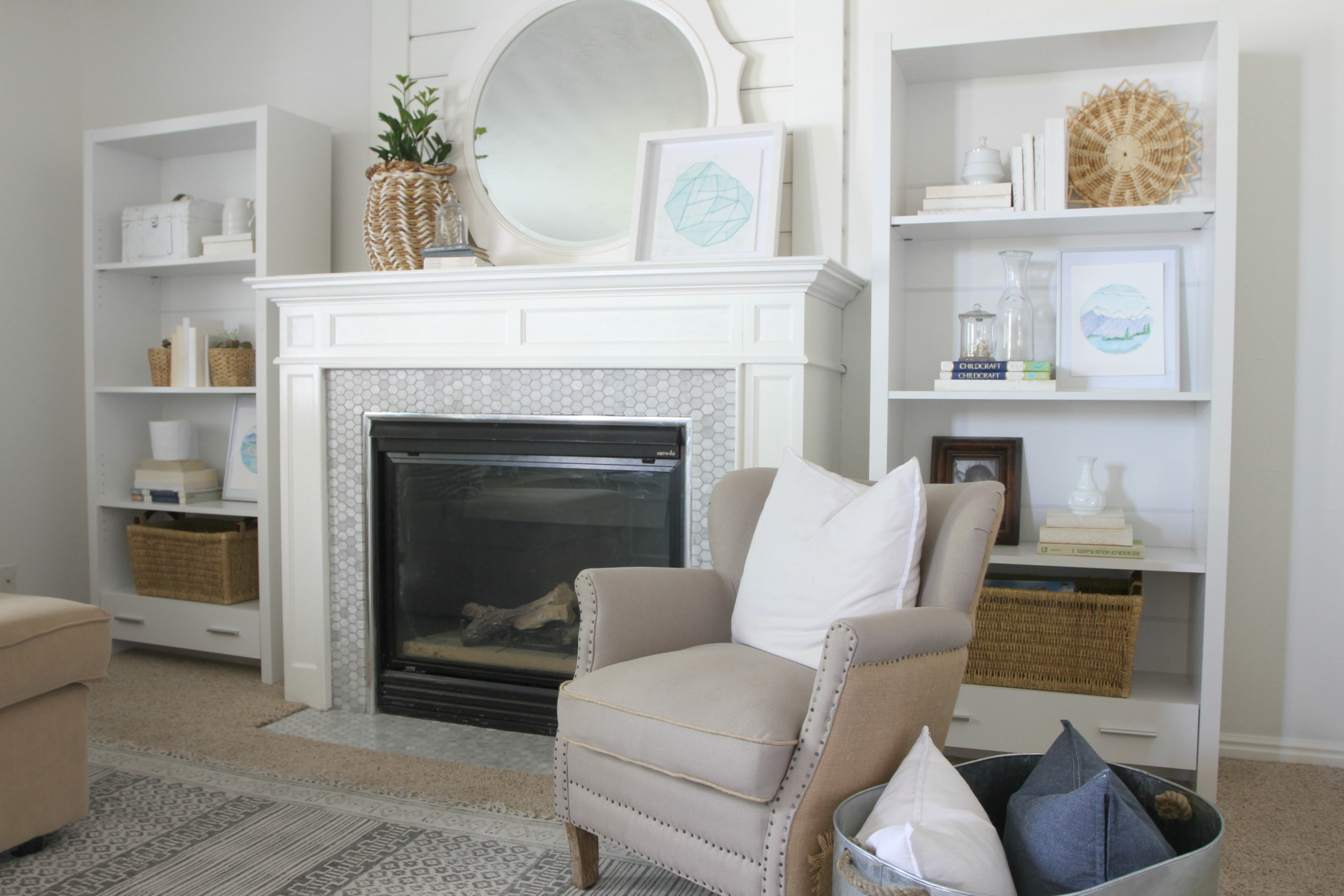 Bright White Paint Refresh - Nesting With Grace