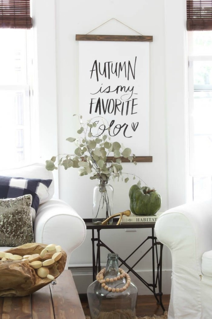 Fall inspiration and fall decor decorating ideas
