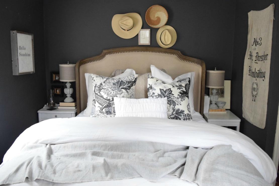 Dark Bedroom Walls Nesting With Grace