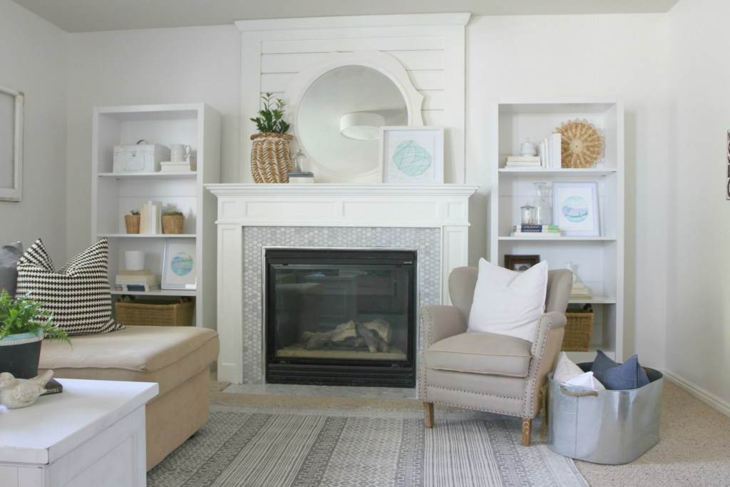 bright white paint refresh nesting with grace