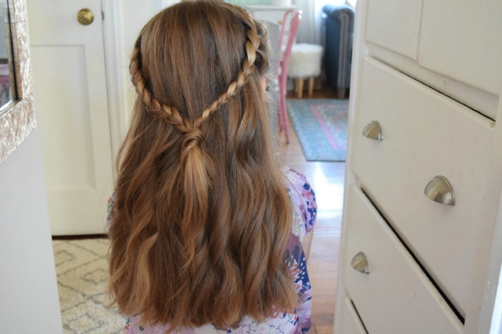 Love your Hair, Easy Hairstyles with Dove , Nesting With Grace