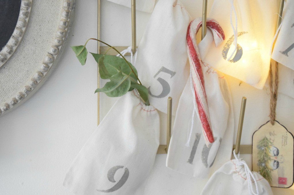 Countdown to Christmas Calendar DIY Idea