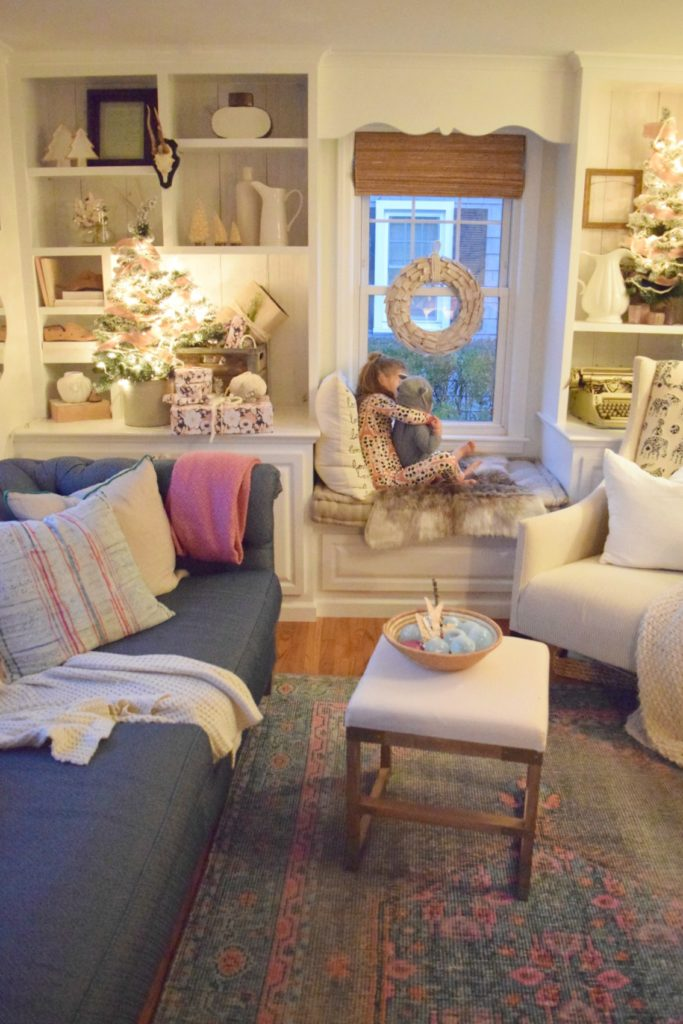 Christmas Home Tour- A look inside a Connecticut Cape