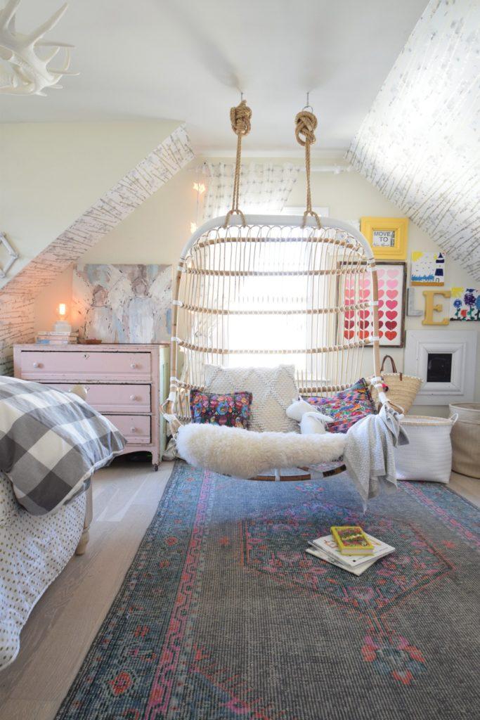 Girls Bedroom- Hanging Chair