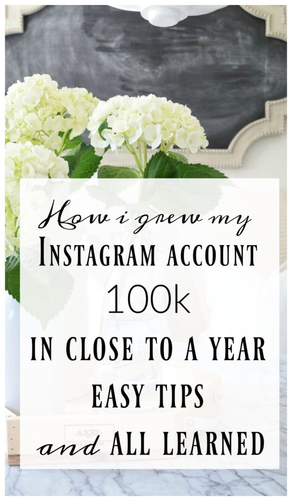 How I grew my Instagram Account to 100k in less than a year