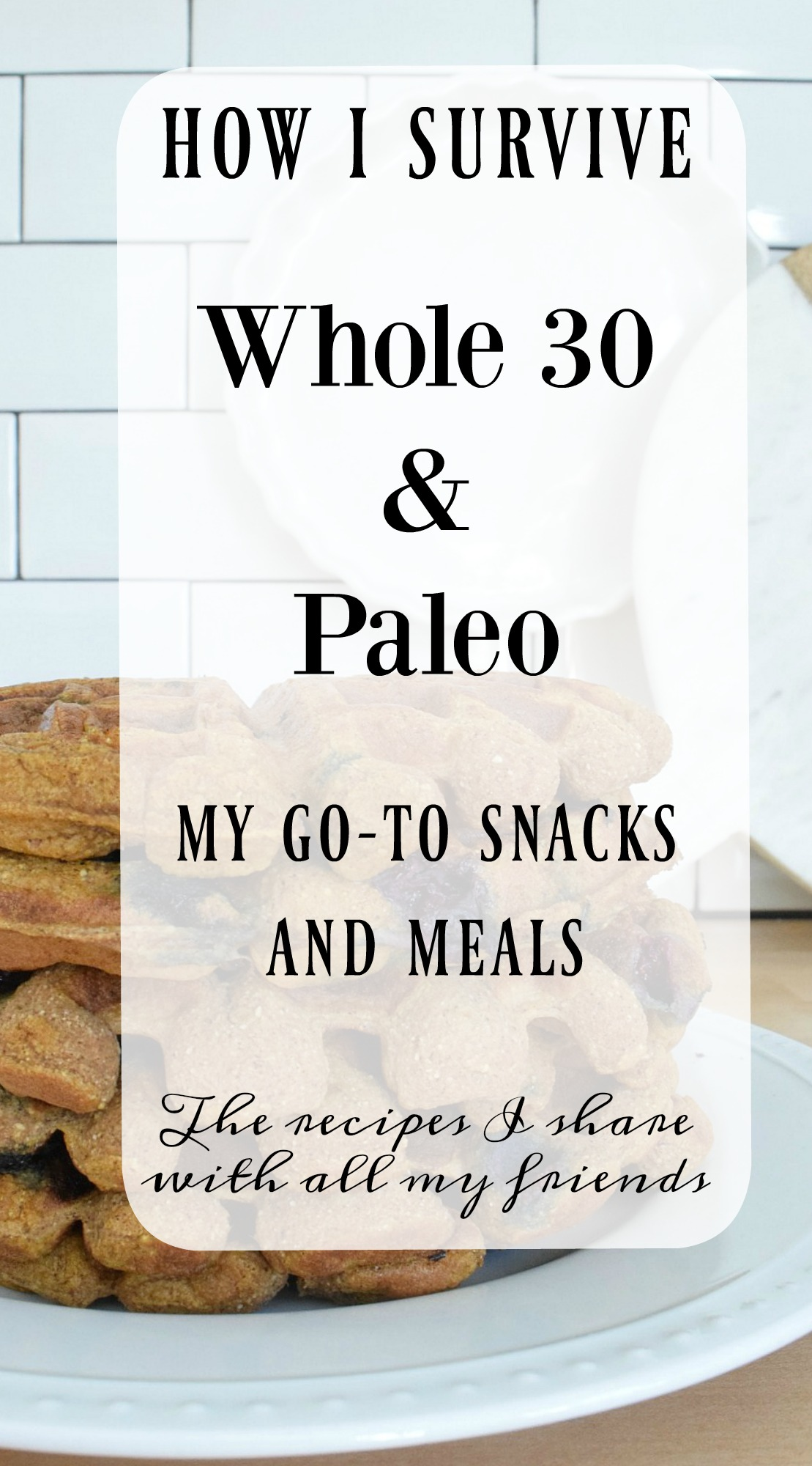 Top Blog Posts of 2017- How I survive the Paleo Diet and Whole30