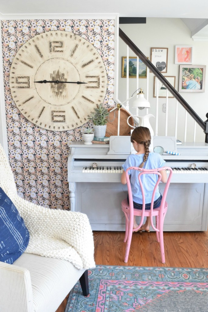 Friday Favorites- Home Tour, Home Decor and Painted Piano