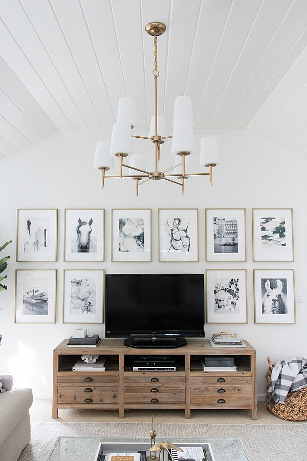 Friday Favorites- Idea for decorating around the TV